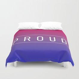 Bisexual Flag v2 - Pride Duvet Cover