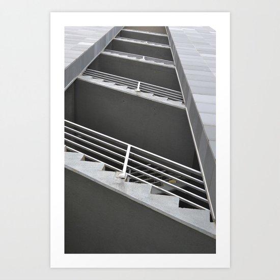 Stairwell Art Print