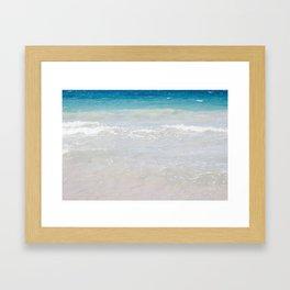 Caribbean Gradient in Puerto Rico Framed Art Print