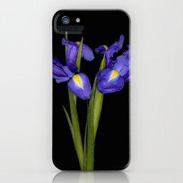 Pretty Iris iPhone Case