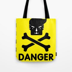 The Dangers of Donald Trump Tote Bag