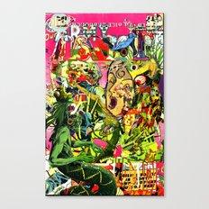 snake shaman rendezview Canvas Print