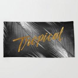 Tropical Nights Beach Towel