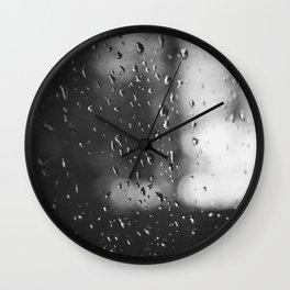 Rain, Rain, Don't Go Away Wall Clock