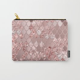 Mermaid Glitter Scales #8 (Faux Glitter) #shiny #decor #art #society6 Carry-All Pouch