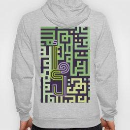 "Hope ""arabic font "" maze Hoody"