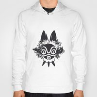 mononoke Hoodies featuring MONONOKE by kravic