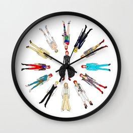 Retro Vintage Fashion 1 Wall Clock