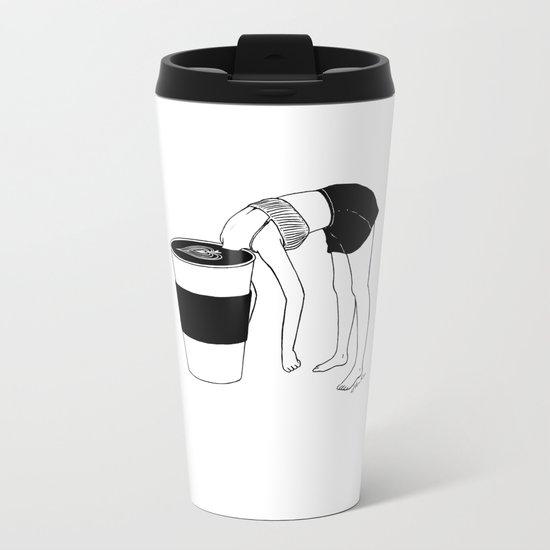 Coffee, First Metal Travel Mug