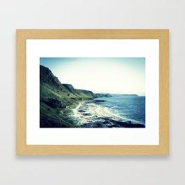 Coast Line Framed Art Print