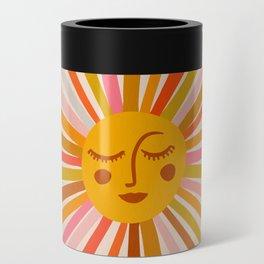Sunshine – Retro Ochre Palette Can Cooler