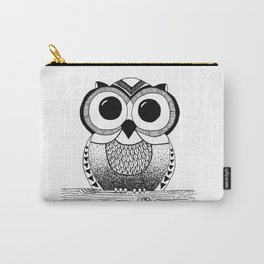 Wide Eyed Owl Carry-All Pouch