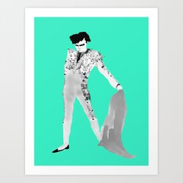 Pompadour Art Print
