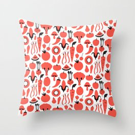 Eat 'em up Throw Pillow