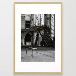 Fabrication Framed Art Print