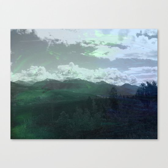 Moody Wanderer Canvas Print