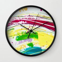 Colour Riot ! Wall Clock