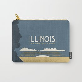 Illinois - Redesigning The States Series Carry-All Pouch
