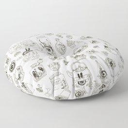 Terrariums Floor Pillow
