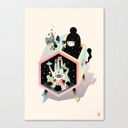 Mystery Garden Canvas Print