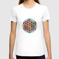 flower of life T-shirts featuring Flower of Life by Klara Acel