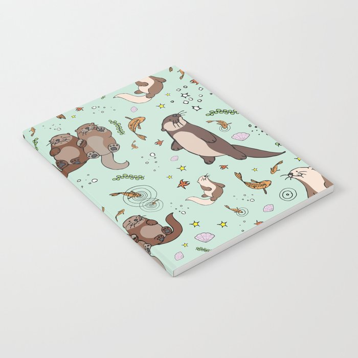Sea Otters Notebook