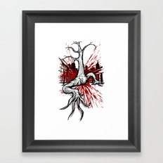 Attack of the Walking Tree Framed Art Print