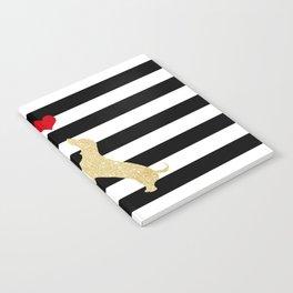 Schnauzer Dog and Dachshund Dog Notebook