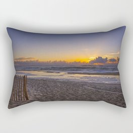 Beach Sunrise II Rectangular Pillow