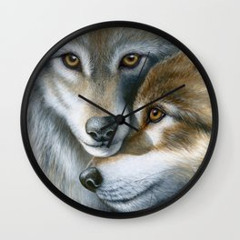 A Winter's Tale Wall Clock
