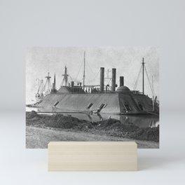 USS Essex Ironclad - Baton Rouge - 1862 Mini Art Print