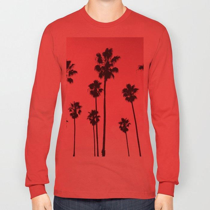 Palms & Sunset Long Sleeve T-shirt