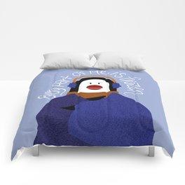 Pengiun by Darah King Comforters