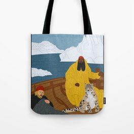 Dirk and James : Lost in the Arctic Tote Bag