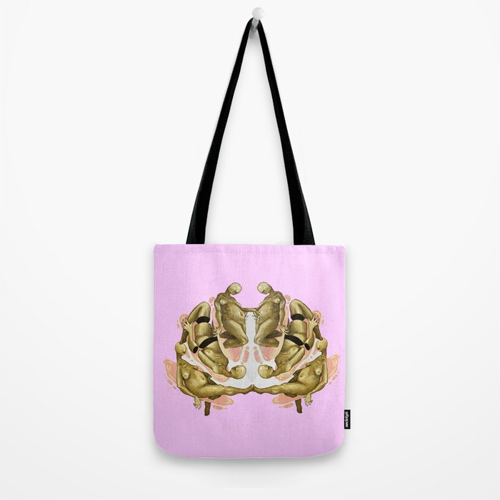 pink again Tote Bag