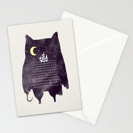 Pirate owl Stationery Cards
