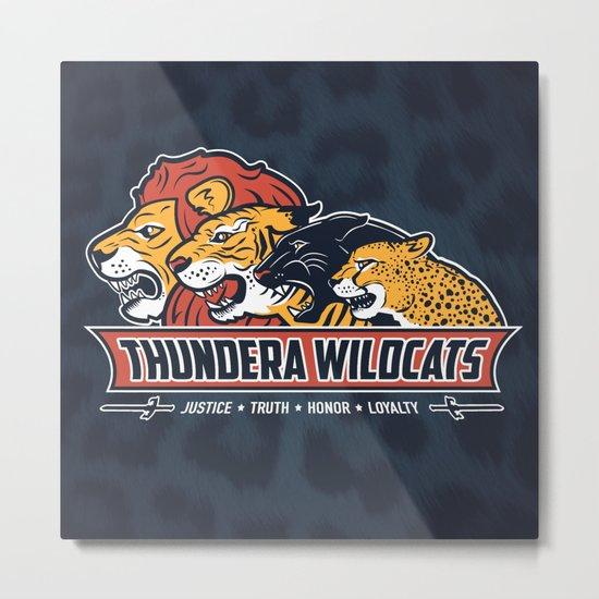 Thundera Wildcats Metal Print