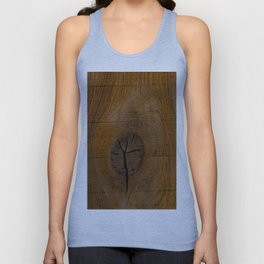 The Wood Knot Unisex Tank Top