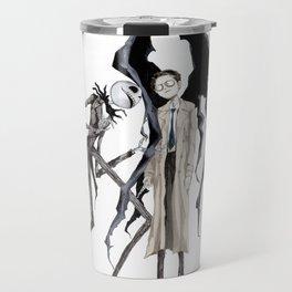 Jack and Castiel Travel Mug