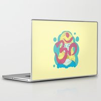om Laptop & iPad Skins featuring Om by Monstruonauta