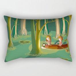 Little Adventures - The Swamp Rectangular Pillow