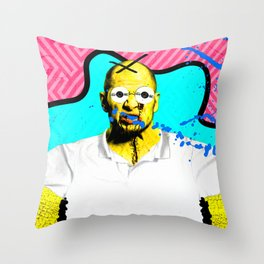 Too Much Television #2 Throw Pillow