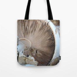 TEXTURES -- Mushroom Uprooted Tote Bag
