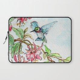 Honeysuckle Hummingbird Laptop Sleeve