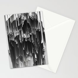 Skull Liquify Stationery Cards