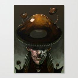 Mushroom Magician Canvas Print