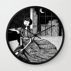 it is only a paper moon Wall Clock