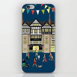 Art Print of Liberty of London Store - Night time iPhone Skin