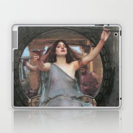 Circe Offering the Cup to Ulysses, John William Waterhouse Laptop & iPad Skin