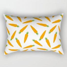 CARROT CARROTS VEGGIE FOOD PATTERN Rectangular Pillow